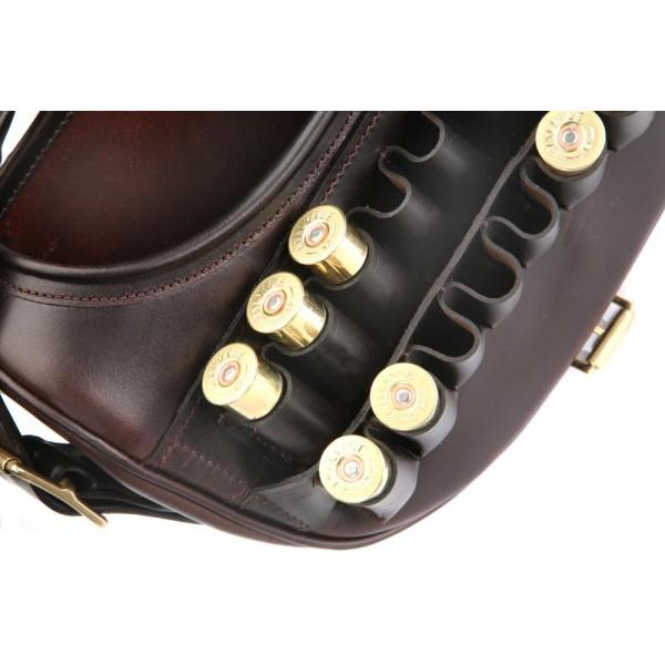 Grosvenor Harness Leather Loader Cartridge Bag