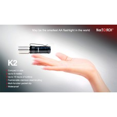 K2 Professional Pocket LED Torch
