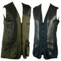 Classic Shooting Vest Ambidextrous for Junior Shooters - BLACK