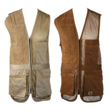Rio Mesh Shooting Vest - Ladies / BLACK Left Handed.