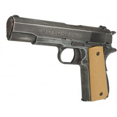 "Armorer Works Custom ""Molon Labe"" 1911A1 Gas Blowback Pistol (Full Metal - Tan Grips)"