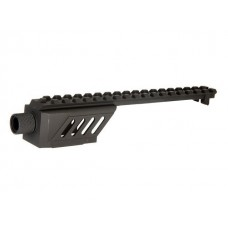Cyma CM030 Silencer Attachment & Mount Rail