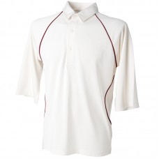 Piped Coolplus® cricket shirt