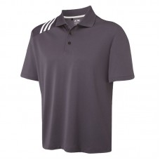 ClimaCool® 3 stripe solid polo
